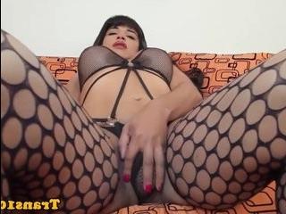 порно с трансом на квартире