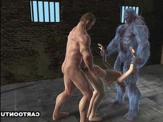 Порно трансвеститы мутанты