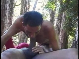 Видео анал трансов в лесу