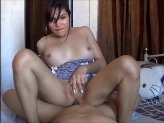 Порно транс без презерватива